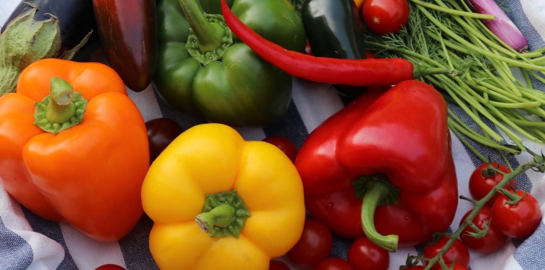Los beneficios de las frutas y verduras según su color