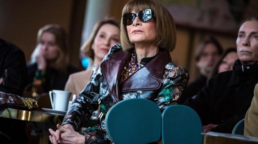 La editora en jefe de la revista Vogue y directora creativa de Condé Nast, Anna Wintour.(EFE/EPA/CHRISTOPHE PETIT TESSON/Archivo)