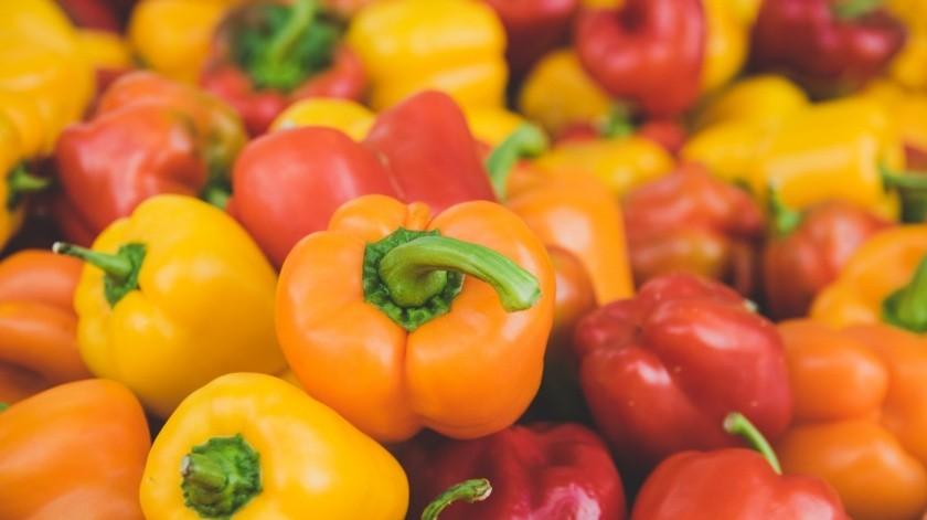 Los pimientos aportan gran variedad de nutrientes a tu salud.(Pixabay)