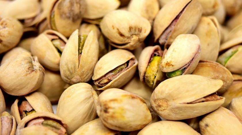 Los pistachos brindan un efecto antianémico.(Pixabay)