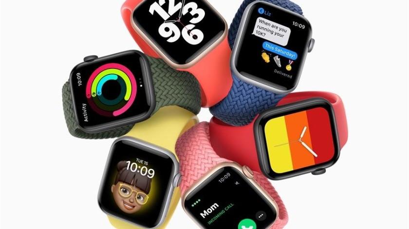 El nuevo Apple Watch permitirá medir el nivel de oxígeno en la sangre, función que podría resultar útil para la detección de Covid-19.(EFE/EPA/APPLE)